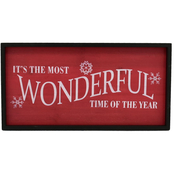 Simply Perfect Wonderful Time Sign