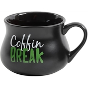 Gibson Home Witches Brew Coffin Mug