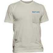 Salt Life Watermen Diamond Pocket Tee