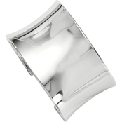 Sterling Silver Polished Slip On Bangle