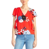 Rachel Roy Adrina Ruffle Sleeve Top