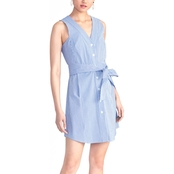 Rachel Roy Sabrina Button Front Dress