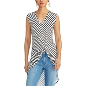 Rachel Roy Miabella Long Over Lean Top