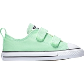 Converse Toddler Girls Chuck Taylor All Stars 2V Ox White