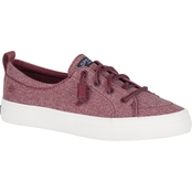 Sperry Women's Crest Boat Barrel Tie Lace Sneakers