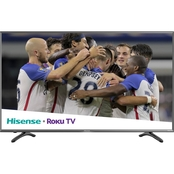 Hisense 50 in. Class R7E 4K UHD HDR  Smart TV with Roku TV