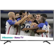 Hisense 58 in. Class R7E 4K UHD HDR  Smart TV with Roku TV