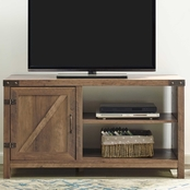 Walker Edison 44 in. Rustic Farmhouse TV Stand