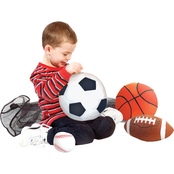 Melissa & Doug Sports Ball Plush Set