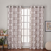 Exclusive Home Kochi Grommet Top Window Curtain Panels 54 x 84 in. 2 pk.