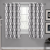 Exclusive Home Kochi Grommet Top Window Curtain Panels 54 x 63 in. 2 pk.