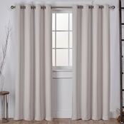 Exclusive Home Sateen Grommet Top Window Curtain Panels 52 x 96 in. 2 pk.