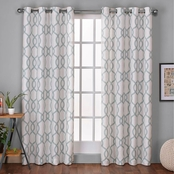 Exclusive Home Kochi Grommet Top Window Curtain Panels 54 x 96 in. 2 pk.