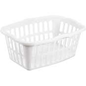 Sterilite 1.5 Bushel Rectangular Laundry Basket, Fresh Melon