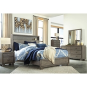 Arnett Storage Bed 5pc Set Queen
