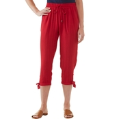 JW Cropped Pull-On Pants