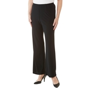 Passports Flat Front Pull On Pants