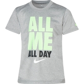 Nike Boys All Me All Day Dri Fit Tee