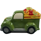 Gibson Home Harvest Truckload Cookie Jar