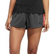 adidas Pacer 3 Stripe Knit Shorts