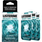 Listerine Ready Tabs Chew Clean Mint 24ct