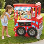 Little Tikes 2-in-1 Food Truck Deluxe Role Play Set