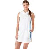 Calvin Klein Performance Ombre Stripe Tape Sleeveless Hoodie Dress