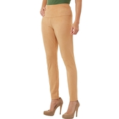 Passports Faux Suede Tummy Control Legging