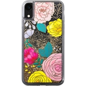 LAUT Design Glitter Floral Case for iPhone XR