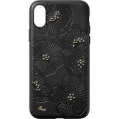 LAUT Design Flora Case for iPhone XS Max, Cherry