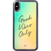 LAUT Design Good Vibes Only Case for iPhone XS Max