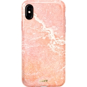 LAUT Design Huex Elements Marble Case for iPhone XS/X