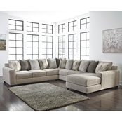 Benchcraft Ardsley 4 pc. RAF Chaise Sectional
