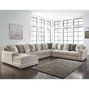 Benchcraft Ardsley 5 pc. LAF Chaise Sectional