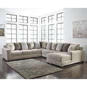 Benchcraft Ardsley 5 pc. RAF Chaise Sectional