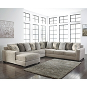 Benchcraft Ardsley 4 pc. LAF Chaise Sectional
