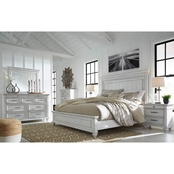 Kanwyn Panel Bed 5PC Set Queen
