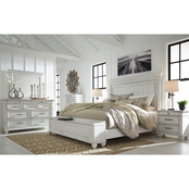 Kanwyn UPH Panel Storage Bed 5PC Set Queen