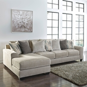 Benchcraft Ardsley Sofa and LAF Chaise 2 pc. Set
