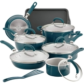 Rachael Ray Create Delicious Aluminum Nonstick 13 pc. Cookware Set