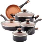 Farberware Glide Copper Ceramic Nonstick 12 pc. Cookware Set