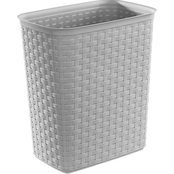 Sterilite 5.8 Gallon Weave Wastebasket