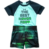 Under Armour Infant Boys The Best Never Rest Tee and Shorts Set