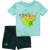 Under Armour Infant Boys Nacho Fans Tee and Shorts Set