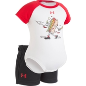 Under Armour Infant Boys Hot Dog Home Run Raglan Set