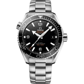 Omega Men's Stainless Steel Planet Ocean with Black Dial O21530442101001