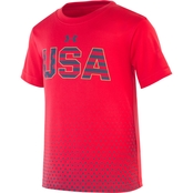 Under Armour Toddler Boys Stars and Stripes Tee