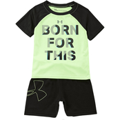 Under Armour Infant Boys Born for This 2 pc. Tee and Shorts Set