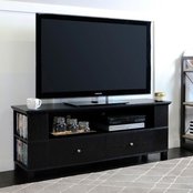 Walker Edison 60 in. Wood TV Stand with Side Storage
