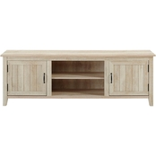 Walker Edison 70 in. Modern Farmhouse TV Stand with Beadboard Doors